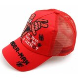Красная кепка Человек Паук Spider man для мальчика р.50-54