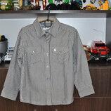 Новая рубашка Rebel р104-110, качество