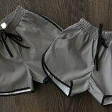 Нереально крутые шорты из светоотражающей ткани