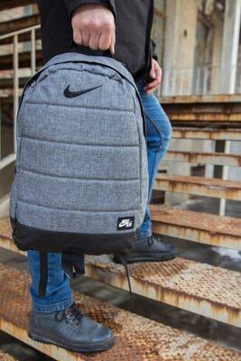 Рюкзак Nike AIR Найк Серый меланж