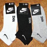 Носки мужские Nike стрейч сетка короткие р. 41-45