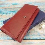 Женский кожаный кошелек rovicky rv-7680155 rfid защита