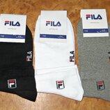 Мужские летние носки Fila стрейч короткие р. 41-45 Турция.
