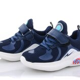 Кроссовки детские синий цвет размер 25-30