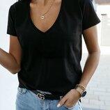 футболка Ткань - турецкий трикотаж хб Цвета черный, белый, граффит, мокко, полоска