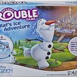 Hasbro Игра настольная Ледяное приключение Олафа E6787 Trouble Game Olaf's Ice Adventure