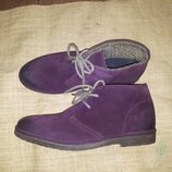 42р-28 см утеплены ботинки унисекс Selected Made in Portugal высота от пола 13 ширина подошвы 10.8 ф