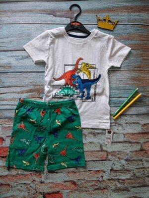 Веселый летний костюм динозавры для мальчиков от dunnes stores, англия