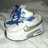 кроссовки кожаные nike air max 22.5 размер