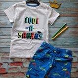 Веселый летний костюм для мальчиков от dunnes stores, англия