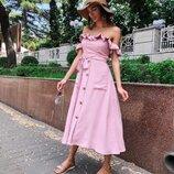 4 цвета платья миди
