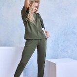 Трикотажный спортивный костюм 2 цвета s-xl
