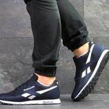 Мужские кроссовки Reebok синего цвета