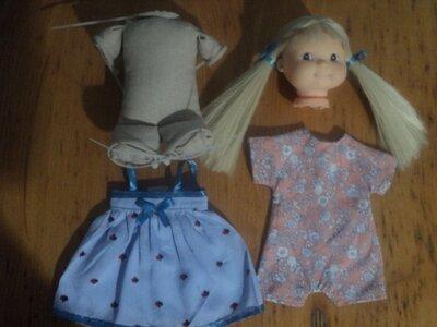 Реставрация , ремонт , пошив нового тканевого тела для кукол.