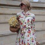 Платье весна лето цветочное