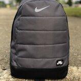 Рюкзак Nike AIR Найк серый стальной