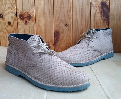 стильные дезерты новые полностью кожаные португальские Norberto Costa ботинки