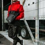 Спортивный костюм мужской Найк, Nike красно - черный. Барсетка в Подарок