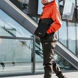 Спортивный костюм мужской Найк, Nike оранжево - черный. Барсетка в Подарок