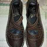 Туфли кожаные Rieker Германия 24.5 см