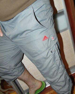 Спортивние стильние фирменние шорти капри бриджи Adidas .м-л