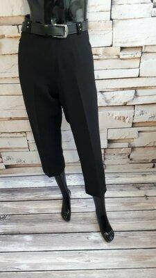 Актуальные укороченные брюки/ высокая посадка/ стразы/ 48р