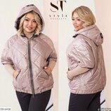 Новиночки Классная куртка- ветровка, размеры 50- 60