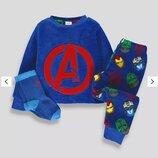 Пижамка пушистый флис Marvel от Matalan на 6-7 лет