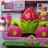 Конструктор Mega Bloks Lil&Princess Маленькая принцесса набор Волшебная карета 80411