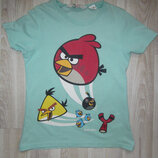 Футболка angry birds h&m
