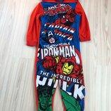 Пижама, слип Marvel от George р 6-7 лет