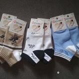 Носки девочке Фенна, тонкие, укороченные, комплект - 6 шт., размер 25-30