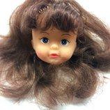 Коллекционная кукла куколка 90х голова на детали реставрацию запчасть