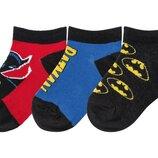Носки детские низкие р. 23-26 носочки для мальчика, пр-во Бельгия