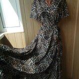 длинные платья на запах