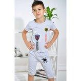 Летний костюм для мальчиков Человек паук 3,4,5,6,7 лет