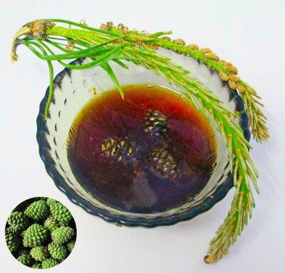 Варенье из сосновых шишек с лимоном домашняя консервация