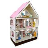 Домик для LOL. Домик для маленьких кукол Лол 2109 Таунхаус LOL с мебелью, текстилем и лестницами
