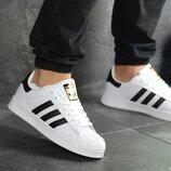 Мужские кроссовки 8135 Adidas Superstar