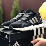 Мужские кроссовки 9429 Adidas Nite Jogger Boost 3M