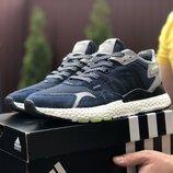 Мужские кроссовки 9430 Adidas Nite Jogger Boost 3M