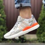 Мужские кроссовки 9433 Adidas Nite Jogger Boost 3M