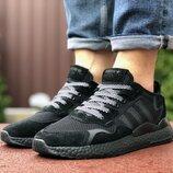 Мужские кроссовки 9434 Adidas Nite Jogger Boost 3M