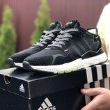 Мужские кроссовки 9435 Adidas Nite Jogger Boost 3M