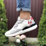 Мужские кроссовки 9437 Adidas Nite Jogger Boost 3M