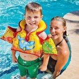 Детский надувной жилет Intex 58673 «Морской», 66 х 44 см, 3 - 6 лет