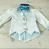 Фирменный пиджак для мальчика и галстук бабочка в подарок. Смокинг . Жакет.