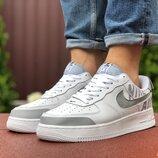 Кроссовки мужские Nike Air Force, белые 9452