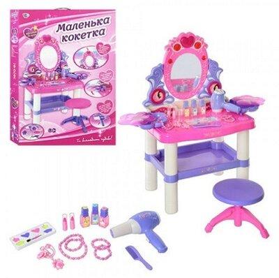 Детское трюмо M 0395 стул, муз, свет, косметика