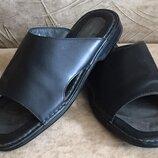 Мужские кожаные шлепанцы сандалии босоножки Rockport. Размер 44-45, 29.5 см ,ессо
